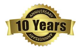 10th year Anniversary Free Gift