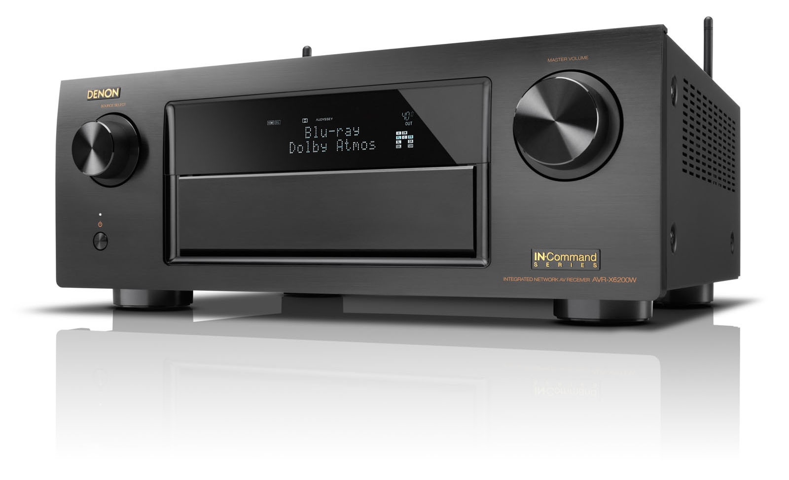 Denon AVR-X6200W 9.2 Channel Full 4K Ultra HD Network A/V Receiv