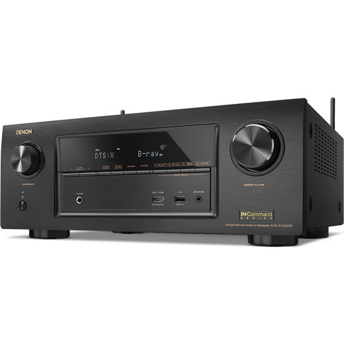 Denon AVR-X3300W 7.2-Channel Network A/V Receiver