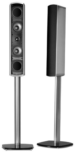Polk Audio FS10 Floor Stand for VM10 Satellite Speaker (Silver)