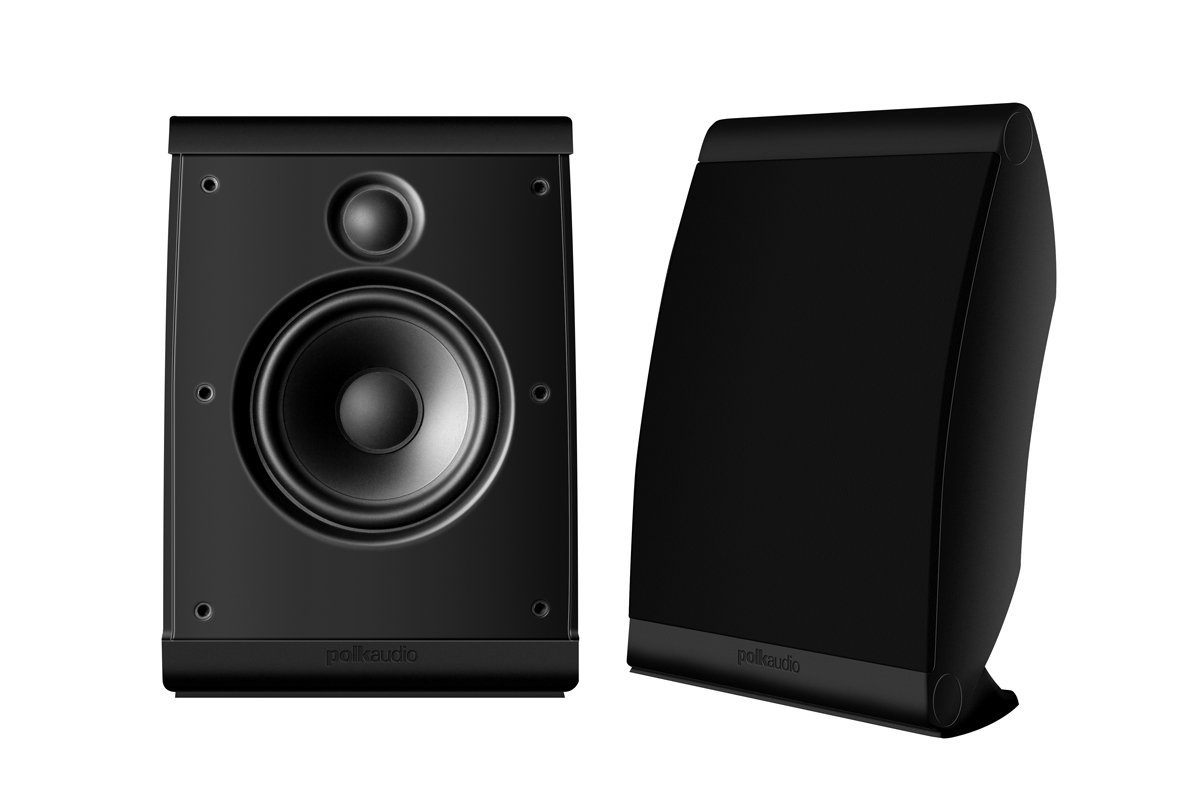 Polk Audio OWM3 On-Wall Speaker (Pair, Black)