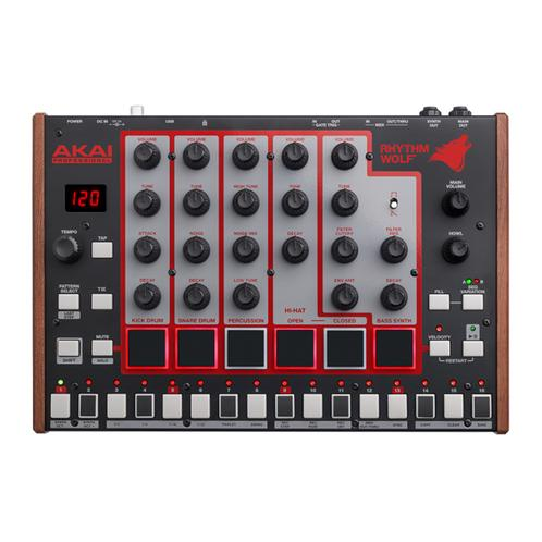 Akai Rhythm Wolf Analog Drum Machine and Bass Synthesizer