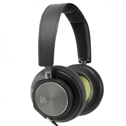B & O BeoPlay H6 Earphones, Black Leather