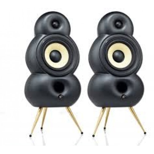 SCANDYNA Bigpod speaker in MATT BLACK (pair)