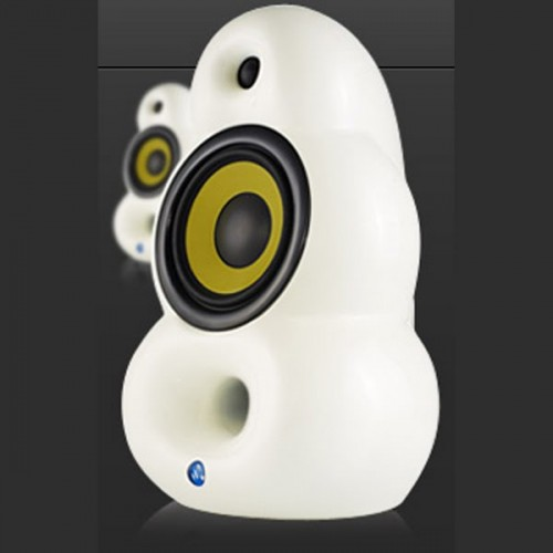 SCANDYNA Bigpod speaker in WHITE (pair)