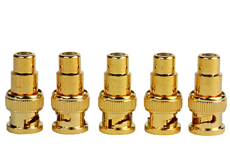High Performance BNC to RCA Video Adapters