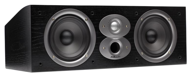 Polk Audio CSiA4 black centre speaker