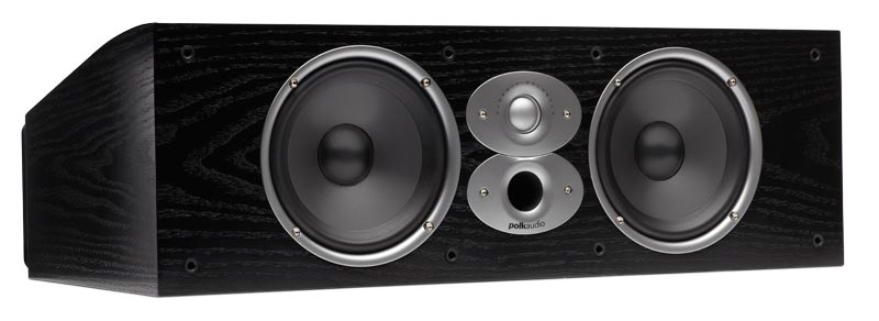 Polk Audio CSiA6 black centre speaker