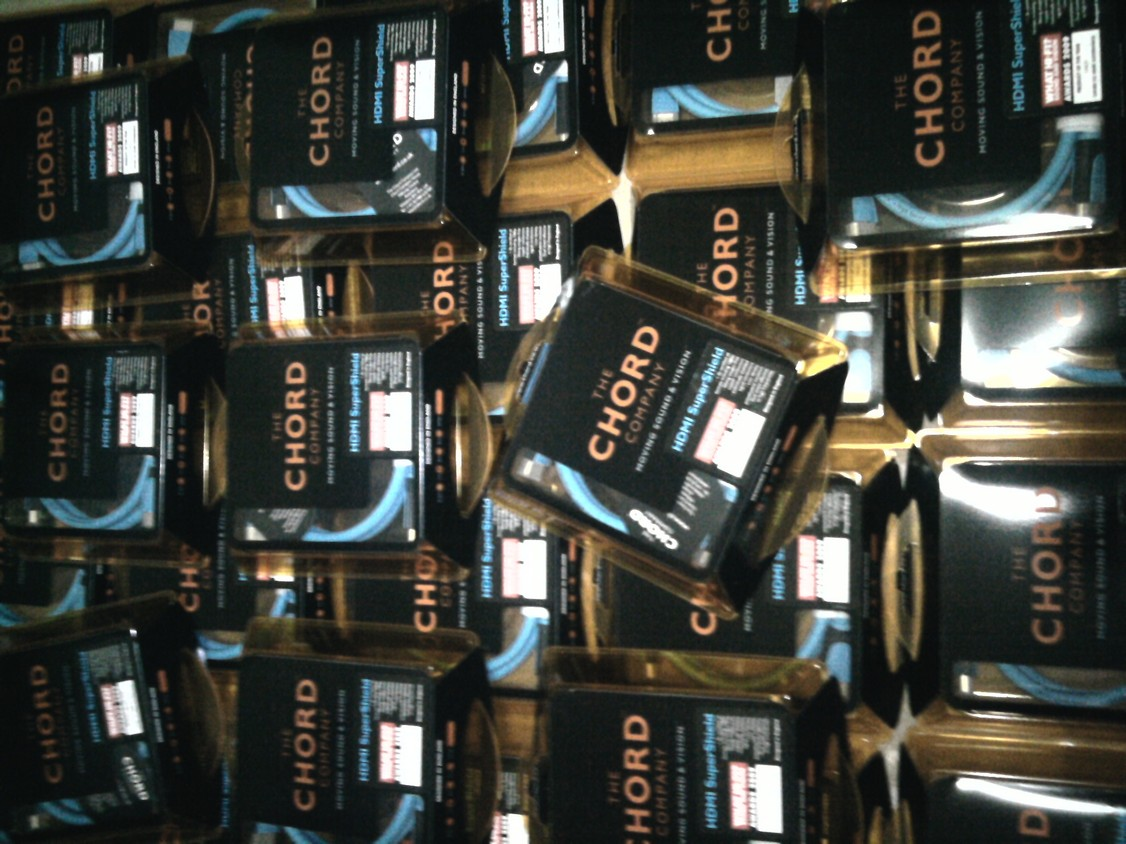 50 pcs of Chord HDMI 1.3b SuperShield 1m