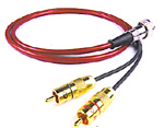 Chord Crimson 2 RCA to 5 Pin Din 1m