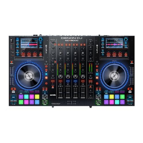 Denon MCX8000 Standalone Player And 4-deck Serato Dj Controller