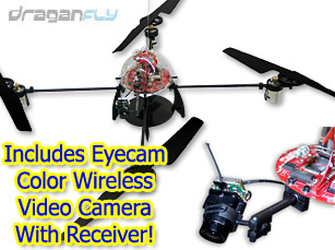Draganflyer V Ti RC With Wireless Video Camera