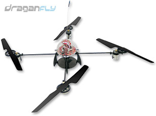Refurbished Draganflyer V Ti RC Gyro Stabilized Electric Helicop
