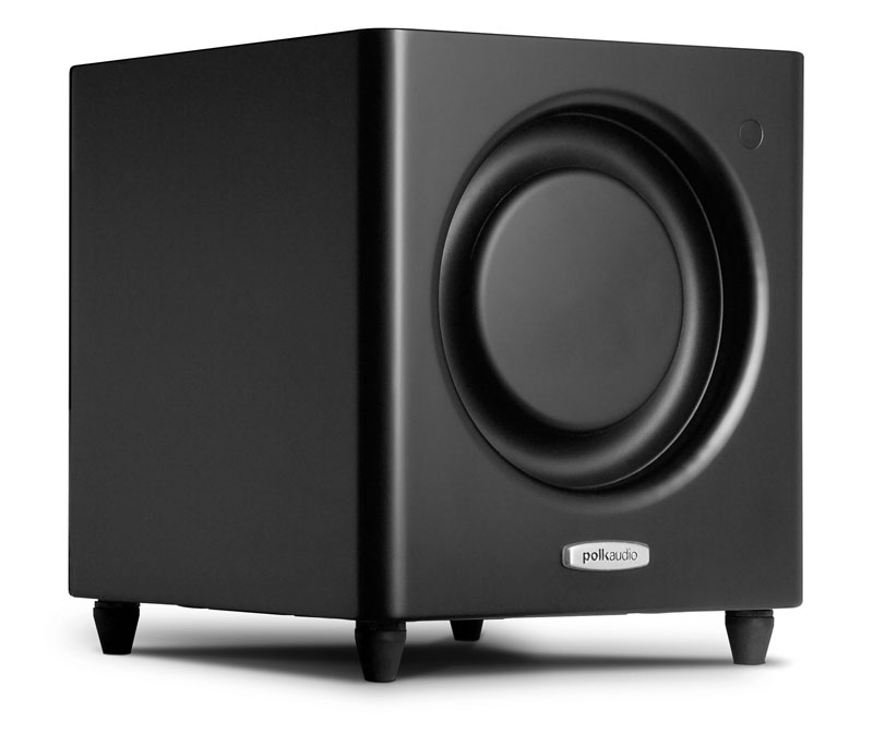 Polk Audio DSWmicroPRO 1000    1200-watt 8-inch subwoofer