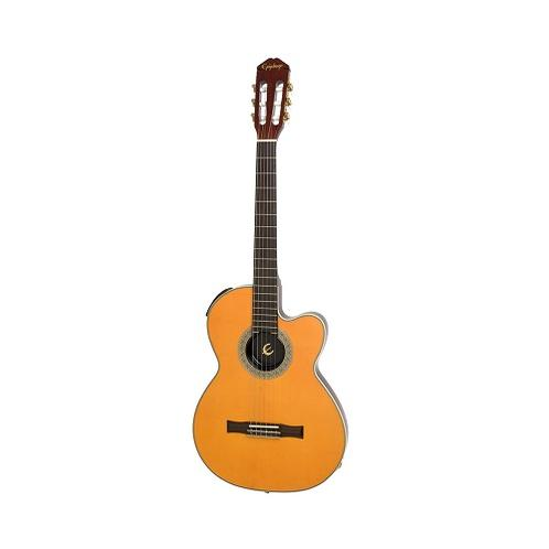 Epiphone Classic Electric/Classical Guitar, Antique Natural
