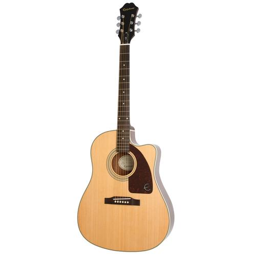 Epiphone AJ-210CE Outfit Acoustic Guitar w/Case, Natural