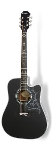 Epiphone Dave Navarro Jane Acoustic/Electric Guitar, Ebony Neck,