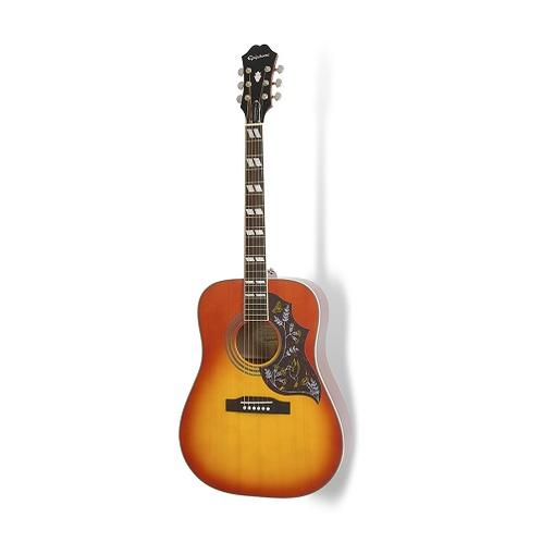 Epiphone Hummingbird Pro Acoustic/Electric Guitar, Rosewood Neck