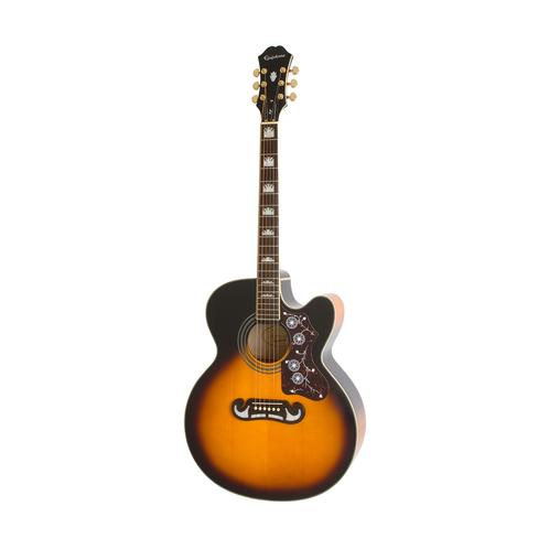 Epiphone AJ-220SCE Acoustic/Electric Guitar, Rosewood Neck, Vint