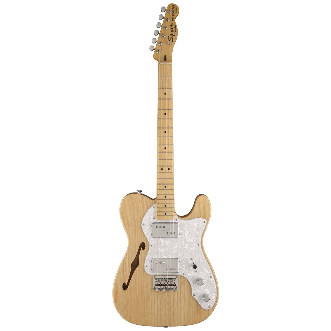 Squier Vintage Modified 72 Telecaster Thinline, Maple FB, Natura