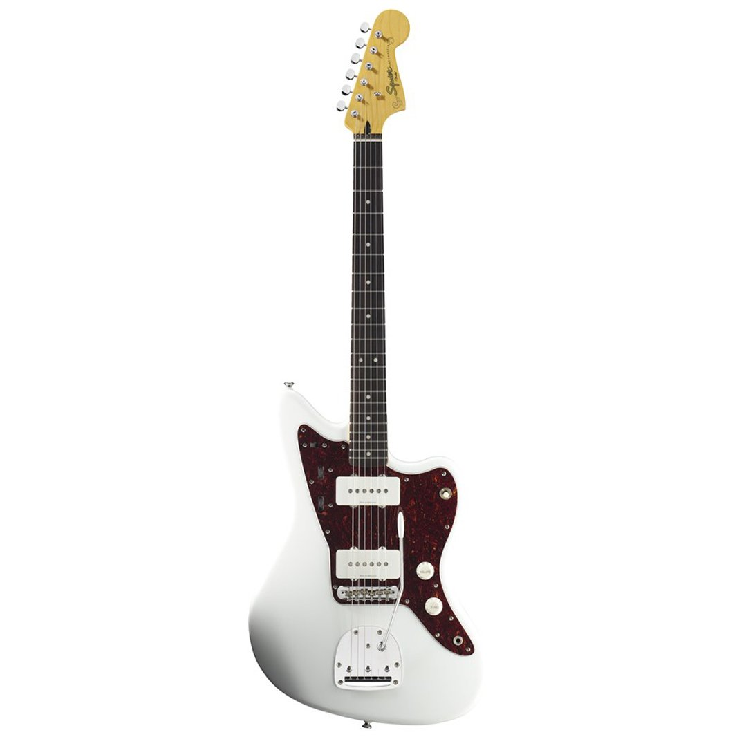Squier Vintage Modified Jazzmaster Electric Guitar, Olympic Whit