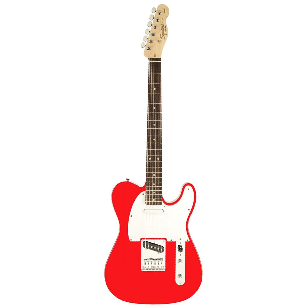 Squier Affinity Telecaster Electric Guitar, Rosewood FB, Race Re