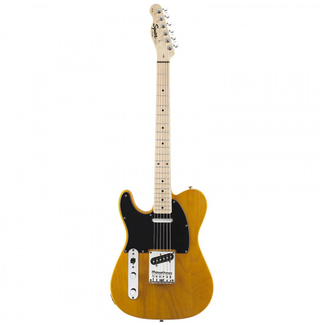 Squier Affinity Telecaster Left-Handed Electric Guitar, Maple FB
