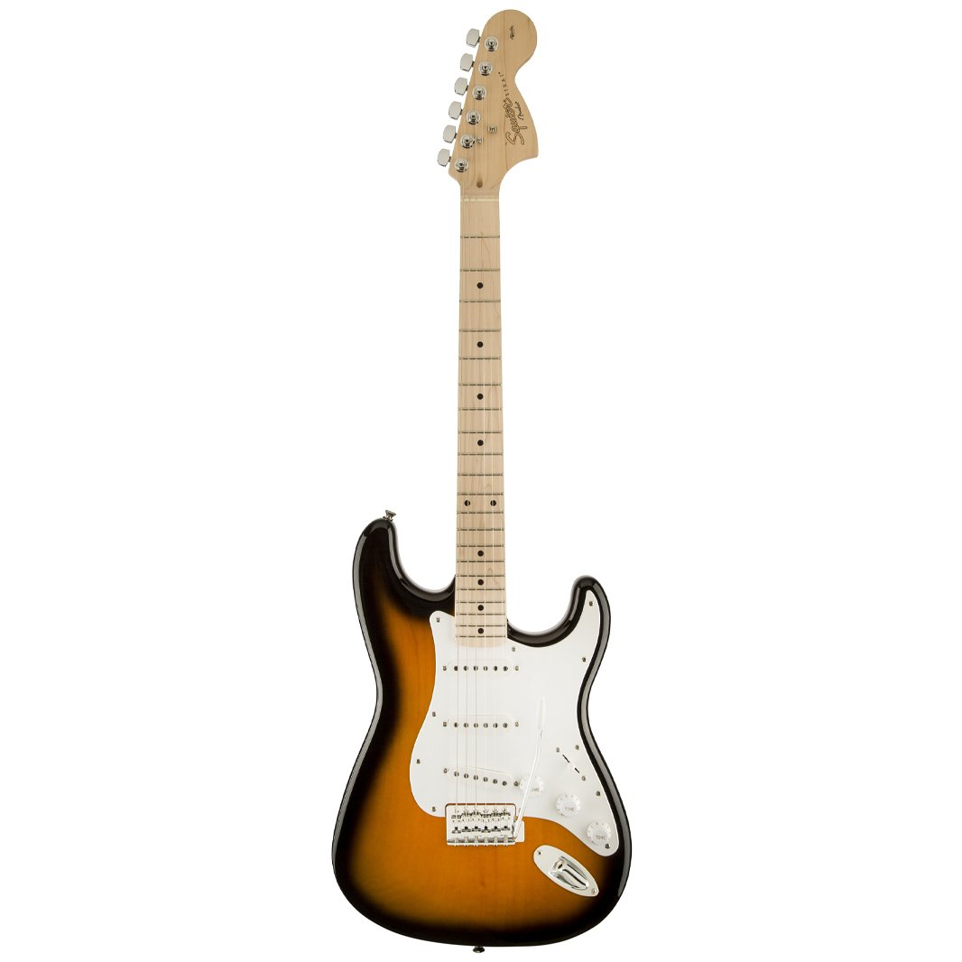 Squier Affinity Special Stratocaster Electric Guitar, 2-Tone Sun