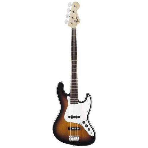 Squier Affinity Jazz 4-String Bass, Rosewood FB, Brown Sunburst