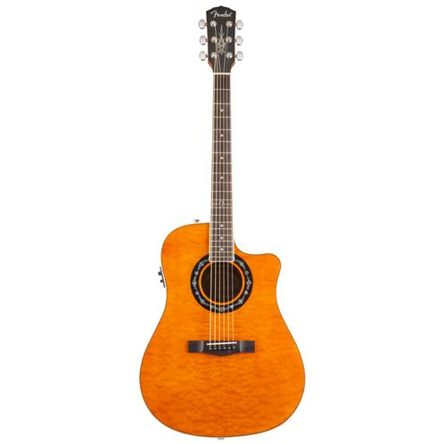 Fender T-Bucket 300CE V2 Acoustic Guitar, Amber