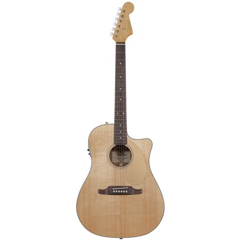 Fender Sonoran SCE Acoustic Guitar, Natural