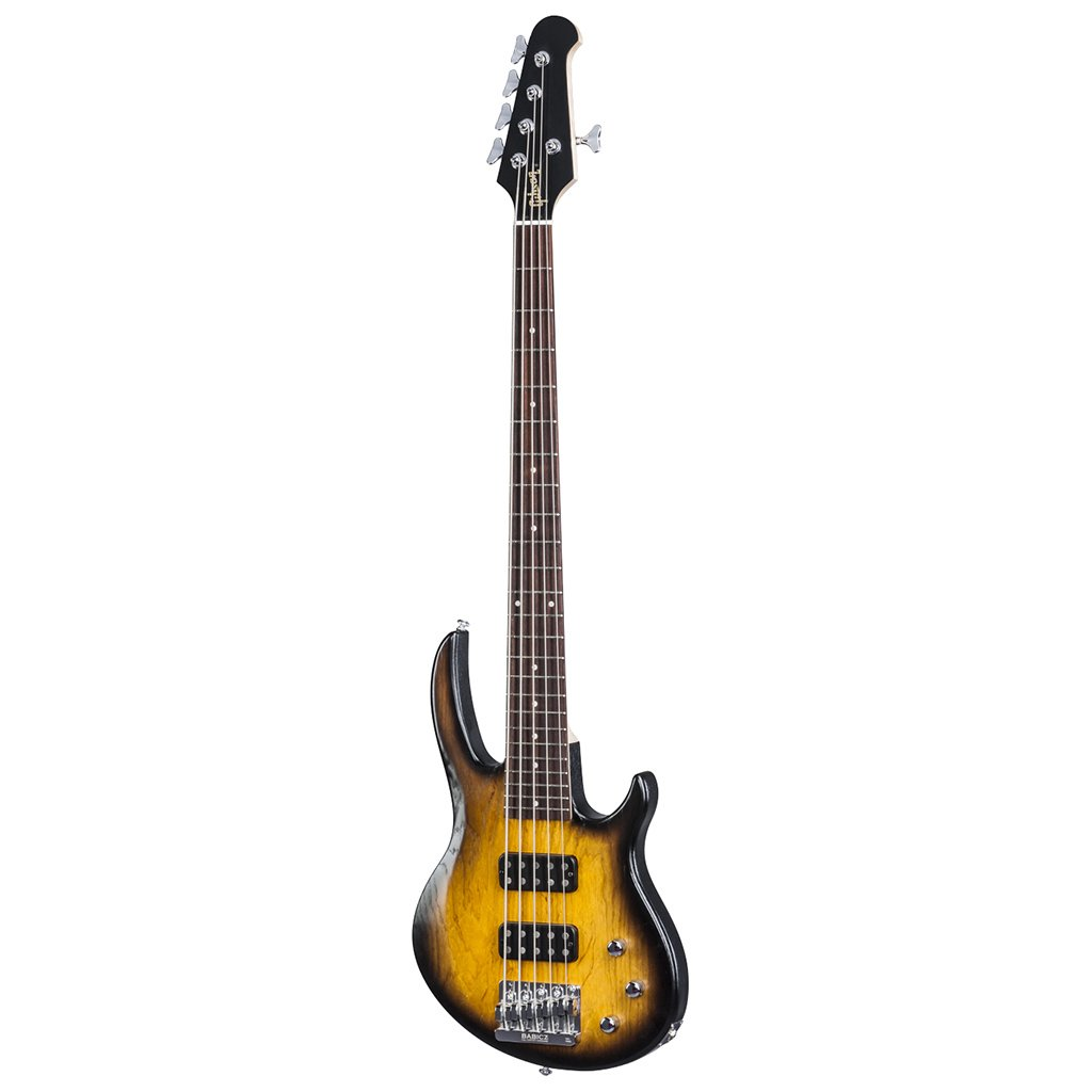 Gibson 2017 EB Bass T 5-String Bass Guitar, Satin Vintage Suburs