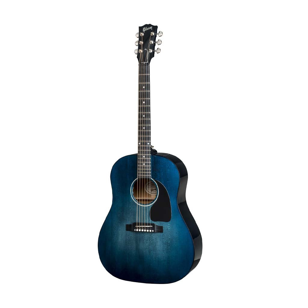 Gibson 2018 J-45 Acoustic Guitar w/Case, Denim Blue