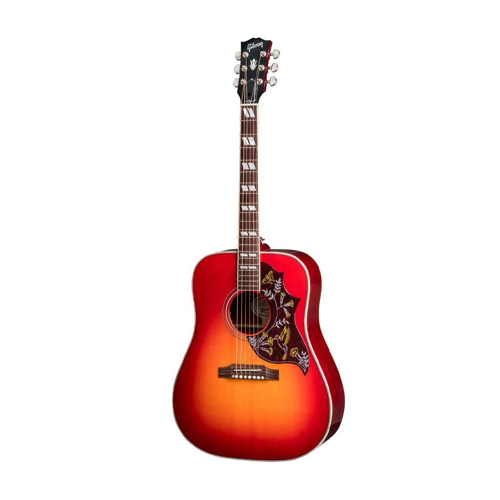 Gibson 2018 Hummingbird Acoustic Guitar w/Case, Heritage Cherry