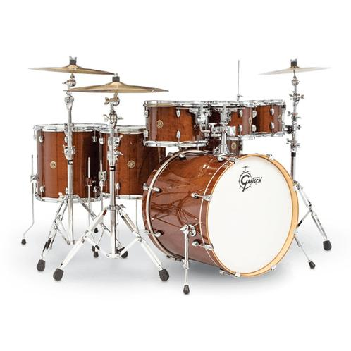 Gretsch CM1-E826P-WG Catalina Maple 7-Piece Drum Shell Kit, Waln