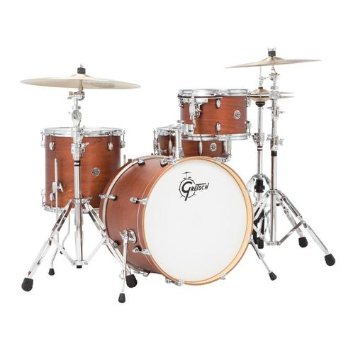 Gretsch CT1-J404-SAF Catalina Club 4-Piece Drum Shell Kit Set(20