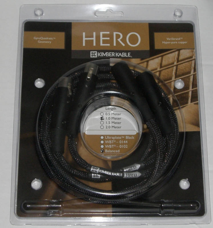 Kimber Kable Hero XLR 1metre pair