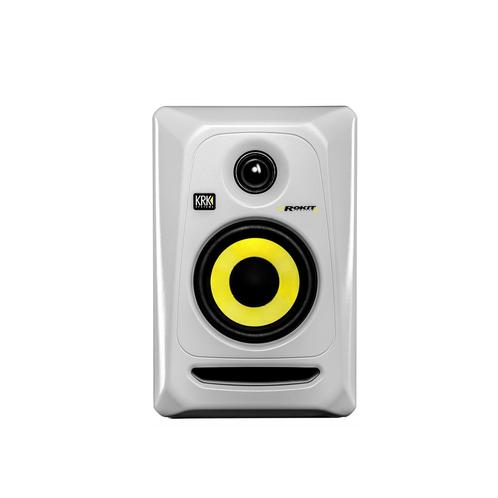 KRK RP4G3W Rokit Powered 4 Generation 3 Active Studio Monitor, W