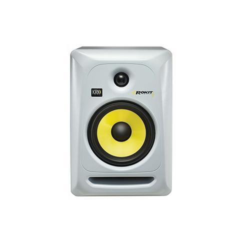 KRK RP6G3W Rokit Powered 6 Generation 3 Active Studio Monitor, W