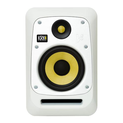 KRK V6S4 6 Inch Studio Monitor, White Noise - Each