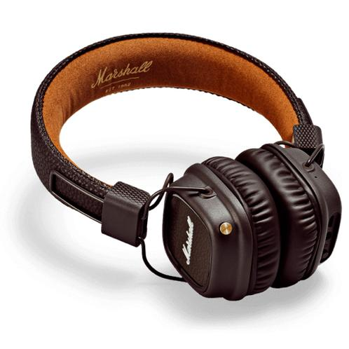 Marshall Major II Bluetooth Headphones, Brown