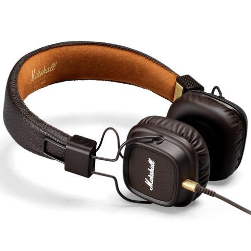 Marshall Major II Headphones, Brown