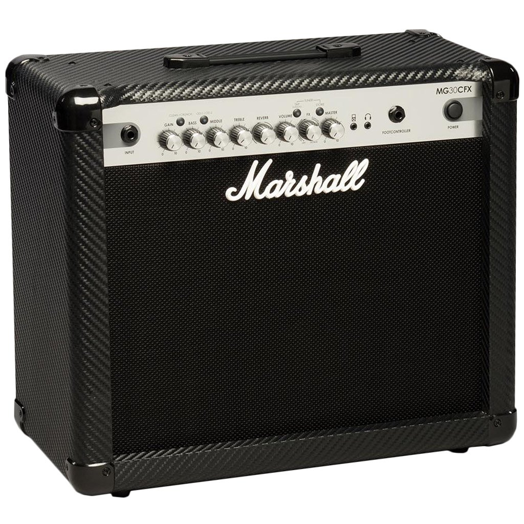 Marshall MG30CFX Carbon Fibre Series 30W Combo Guitar Amplifier