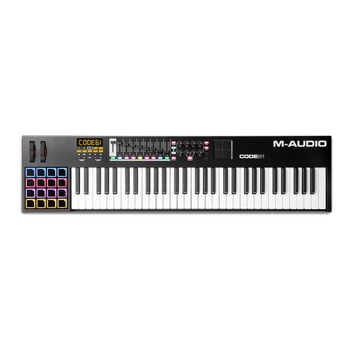 M-Audio Code 61 Black USB MIDI Controller With X/Y Pad