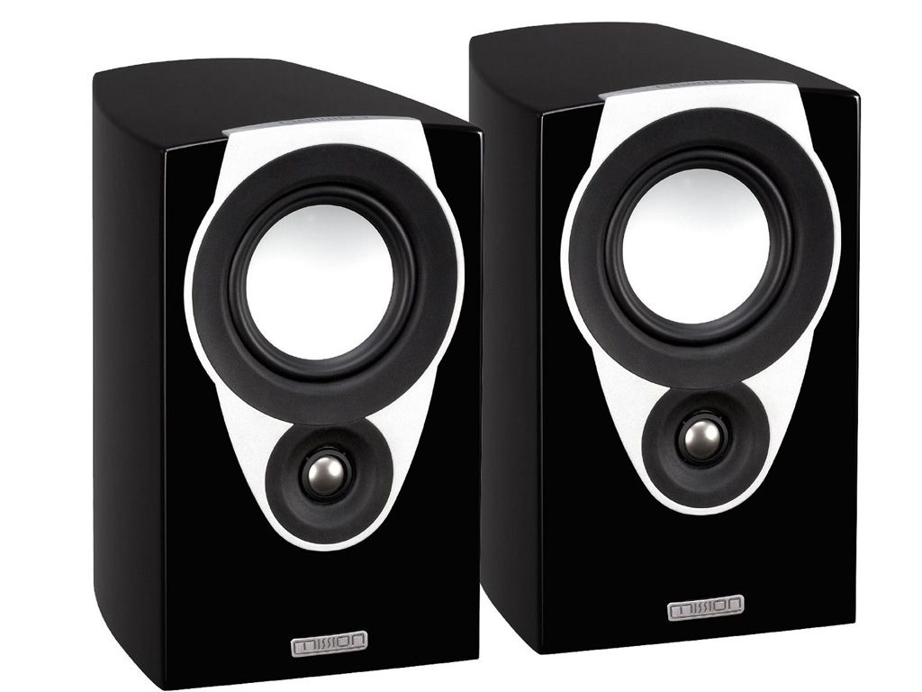 Mission SX1 bookshelf speaker black