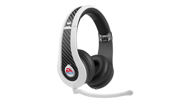 Monster MVP Carbon EA Sports On-Ear Headphones - White