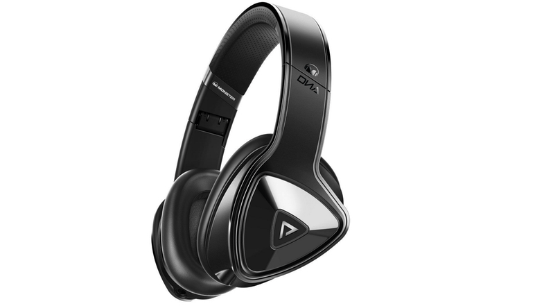 Monster DNA Pro Over Ear Headphones - Matte Black