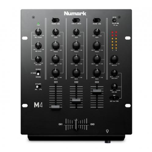 Numark M4 Black 3 Channel Dj Mixer