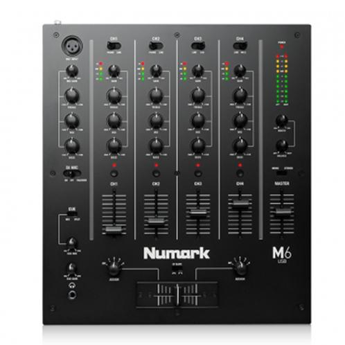 Numark M6 USB Black 4 Channel Dj Mixer