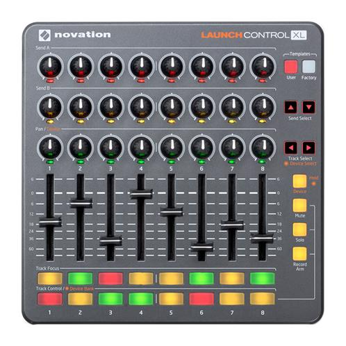 Novation Launch Control XL MIDI Controller With with 24 Knobs, 8